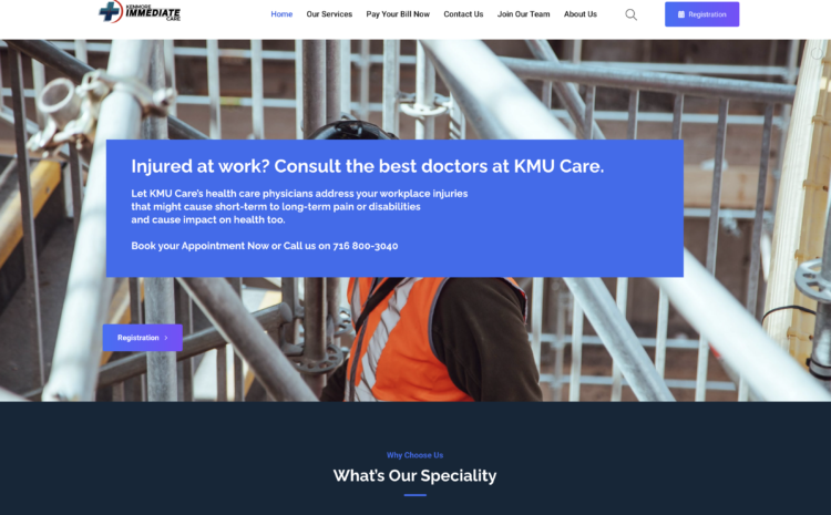 Urgent Care And Immediate Care SEO and Web Design Services
