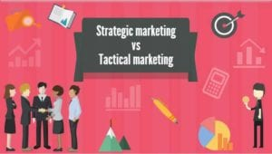 Marketing Strategy vs Tactics vs Plan - How They Affect Your Business